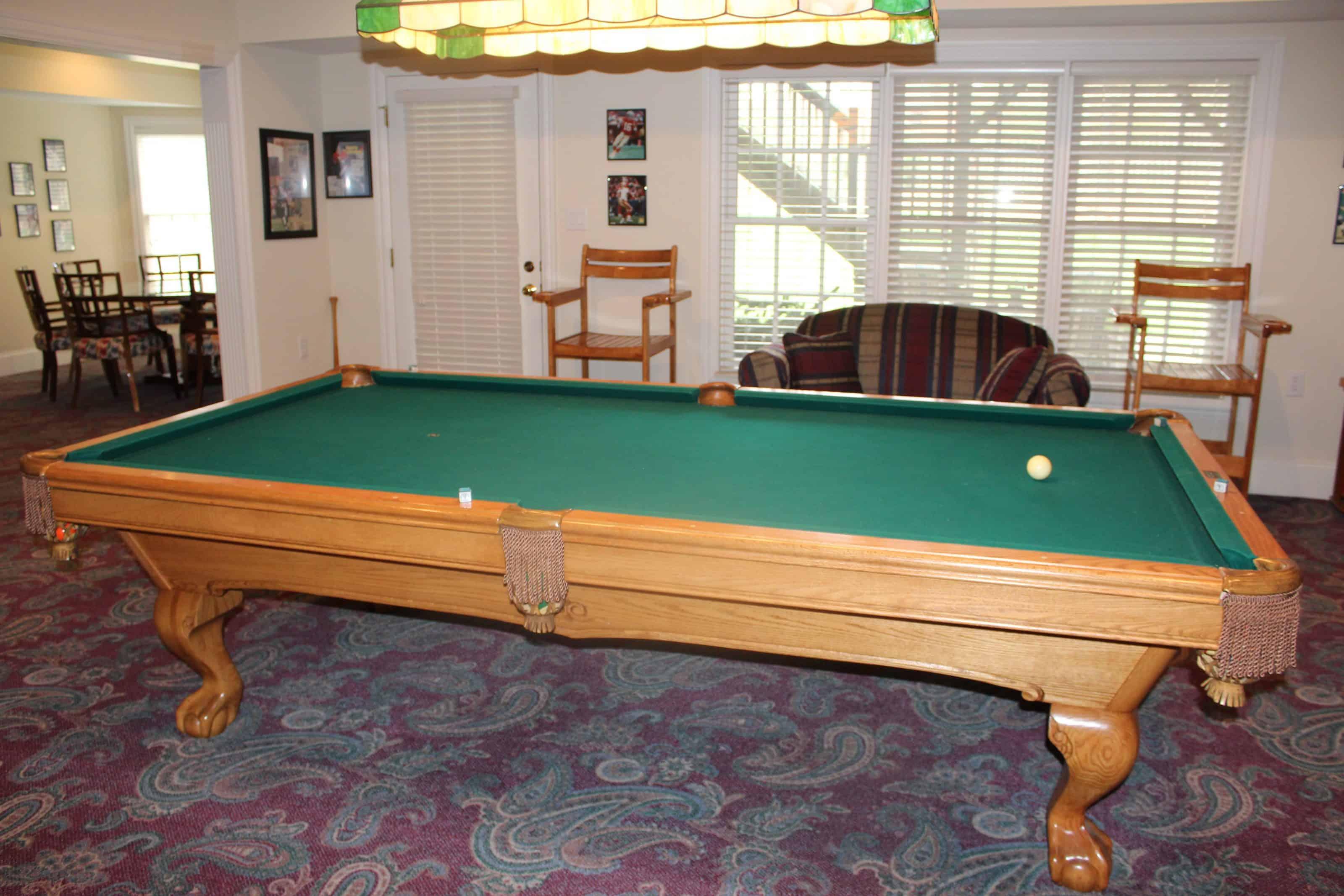 Lower Level Billiards